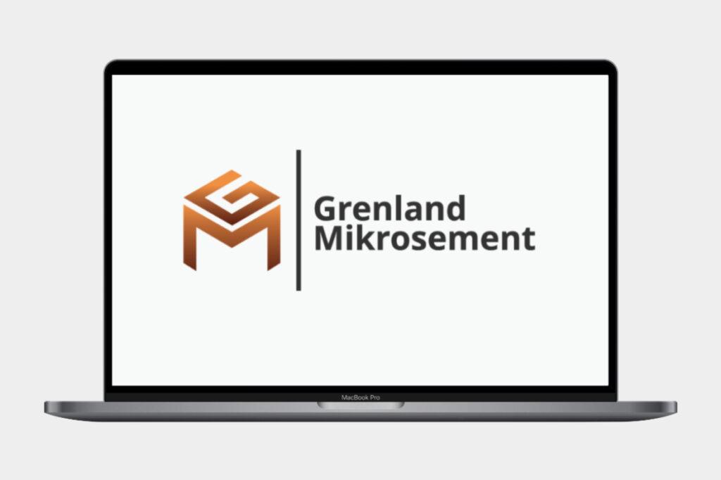 Logodesign for Grenland Mikrosement.